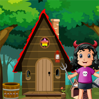 Games4King Little Devil Girl Rescue