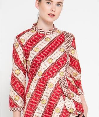 Baju Batik Lengan Panjang Terbaru