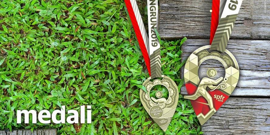 Medali Spot Finding Run 2019