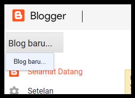 Pembuatan blog baru