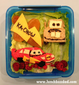 Lightning McQueen and Mater kids lunch