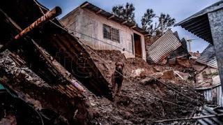 Las tormentas de hace cinco días generaron daños ambientales en la costa, en el cerro Chenque y en el río Chico.