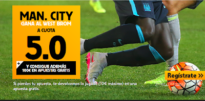 betfair Manchester City vs West Brom cuota 5 Premier League 10 agosto