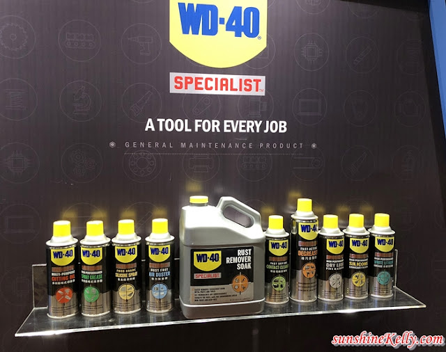 WD-40® Multi-Use Product, WD-40® 3-In-One Professional Air-Condition Cleaner, WD-40® Specialist™, WD-40® BIKE and WD-40® Specialist™ Automotive