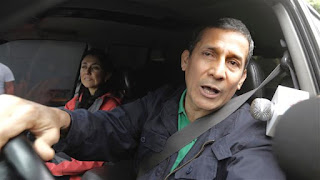 Ex-Peruvian president Ollanta Humala jailed before trial in corruption case