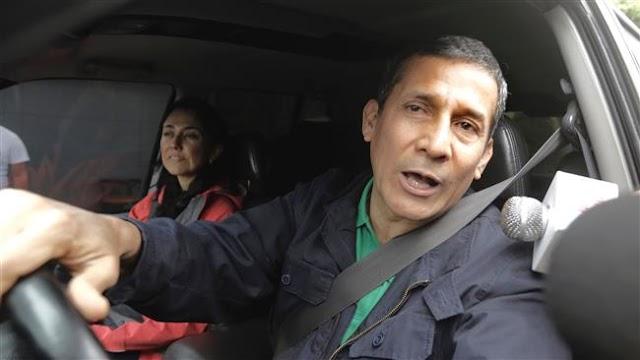 Ex-Peruvian president Ollanta Humala jailed before trial in corruption case