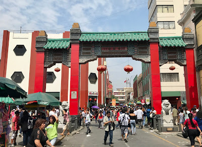 Chinatown is a popular place to visit in Lima, Peru