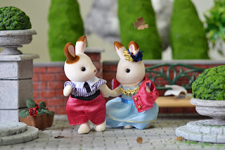 Cinnamon Rabbit, Love story, Stella, Sylvanian Families, rainy days