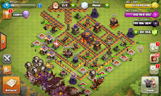 Clash Of Clans FHx v7 (Unlimited Gold,Elixir,Gems)
