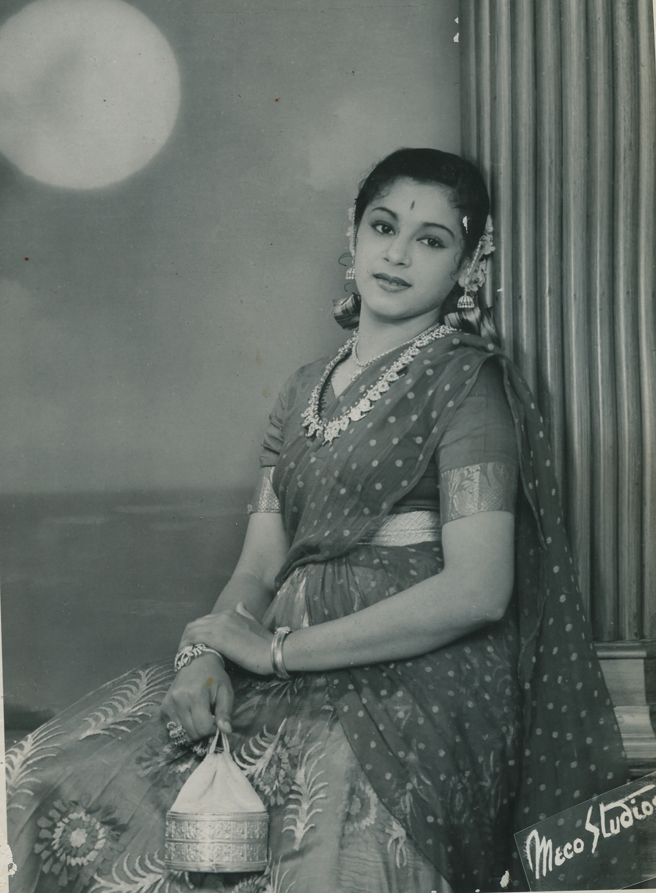 Portrait of South Indian Actress Ragini