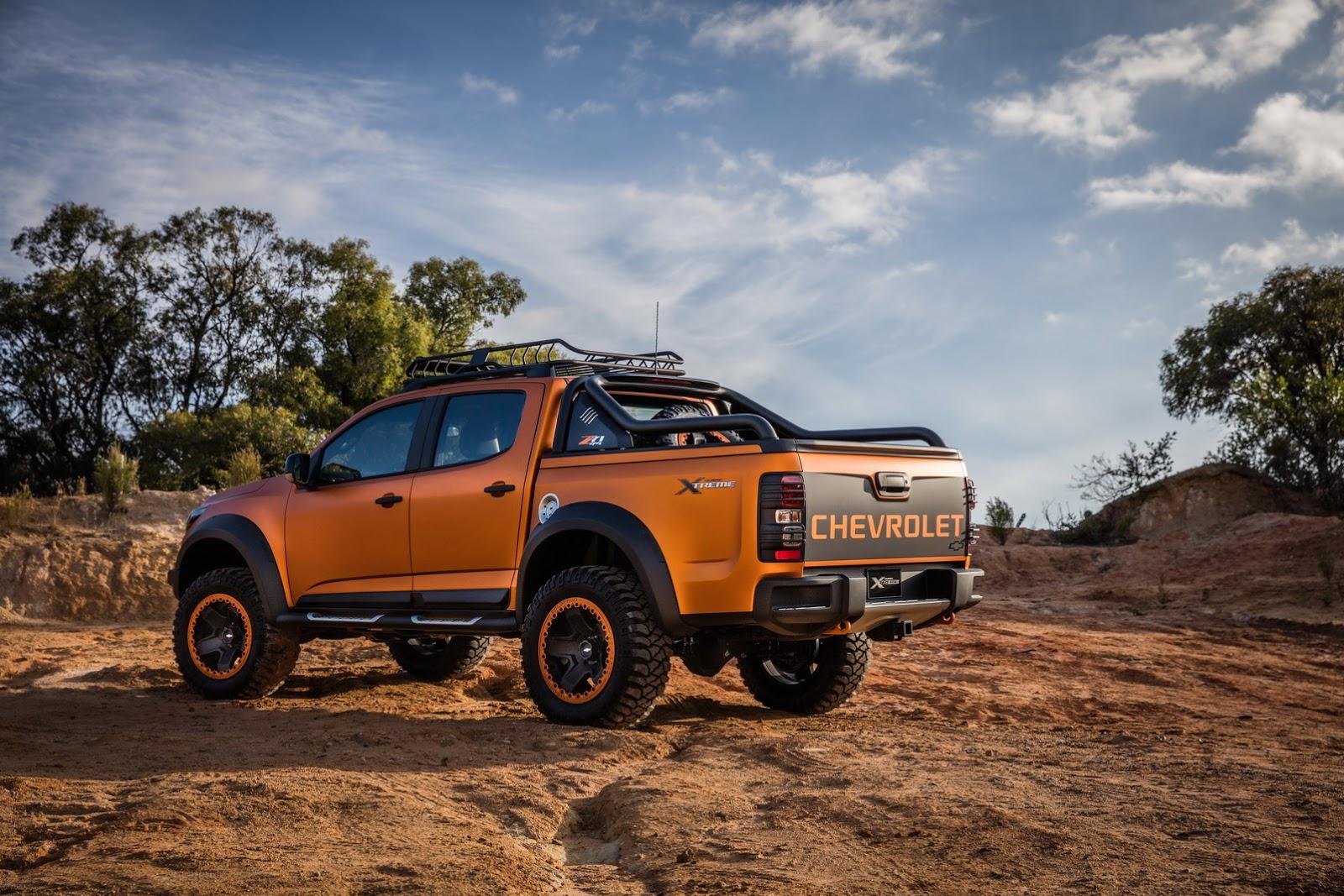 Chevrolet Colorado Xtreme Study Previews The Global Model ...