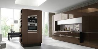 cocina moderna chocolate