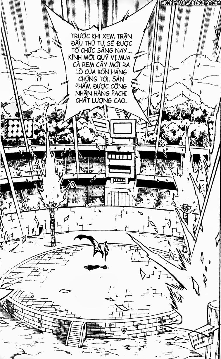 Shaman King [Vua pháp thuật] chap 137 trang 3