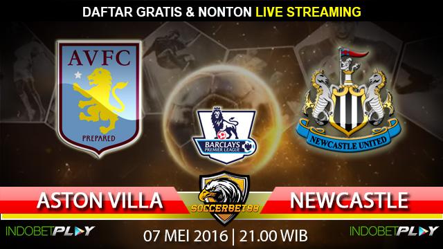 Prediksi Aston Villa vs Newcastle 07 Mei 2016 (Liga Inggris)