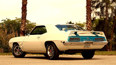 1969 Pontiac Trans AM Ram Air IV Rear Left