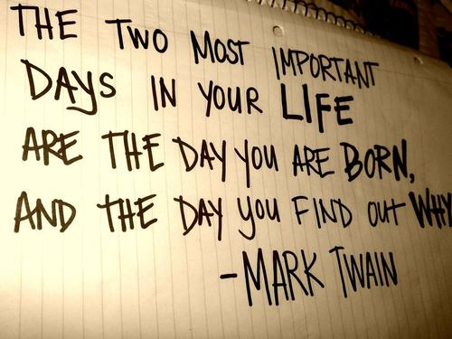 most important days in your life