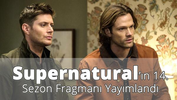 Supernatural 14. Sezon Fragmanı