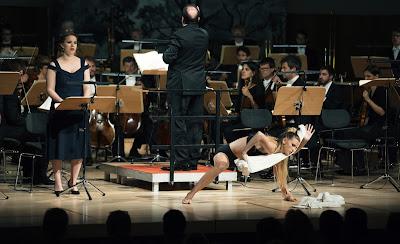 Beethoven: Leonore - Dresden Music Festival - Christina Gansch, Ivor Bolton, Maja Blomstrand, Dresden Festival Orchestra (photo Oliver Killig)