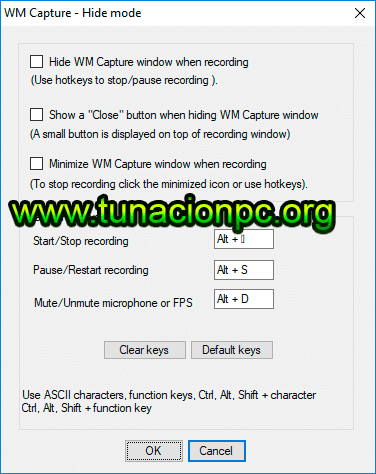 WM Capture Gratis Español