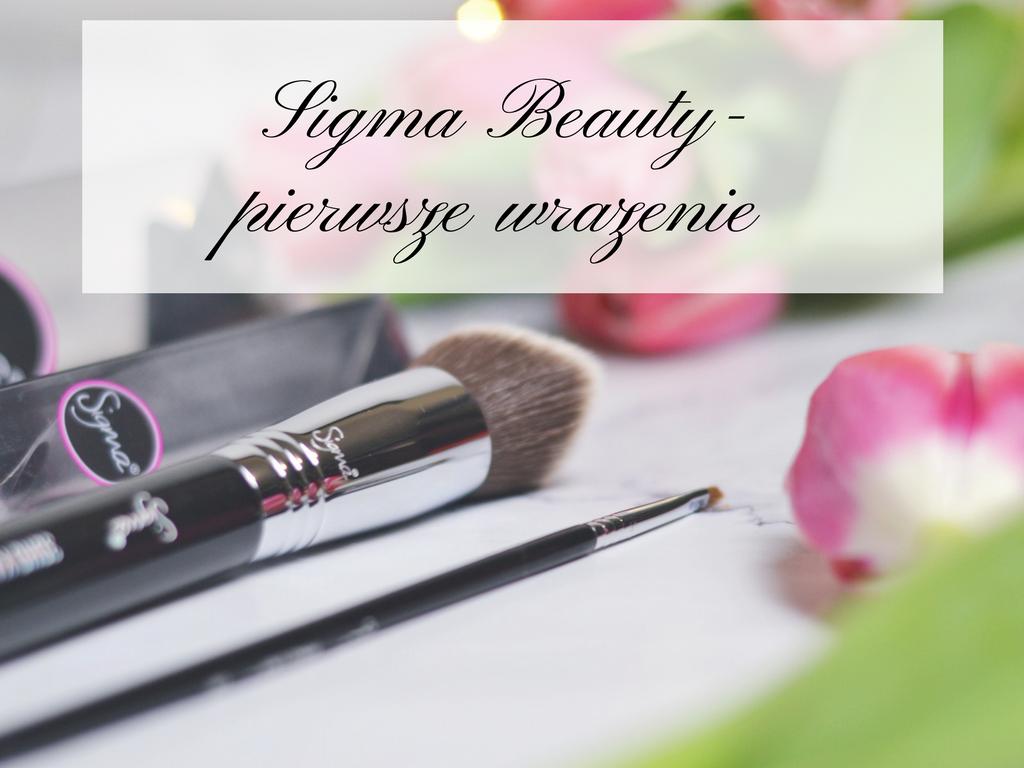 Akcesoria do makijażu Sigma Beauty