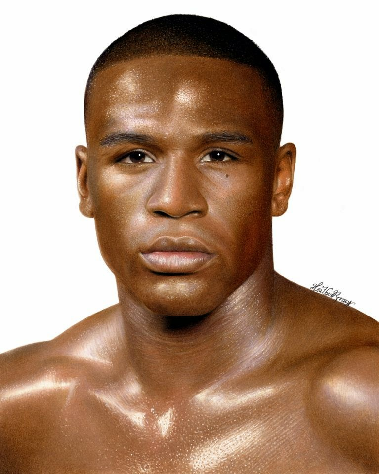 06-Floyd-Mayweather-Heather-Rooney-Colored-Pencil-Drawings-of-Celebrities-www-designstack-co