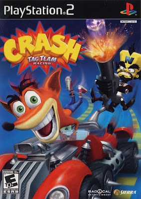 Crash Tag Team Racing PS2 GAME ISO