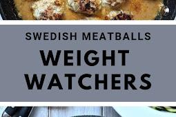 Swedish Meatballs-Weight Watchers