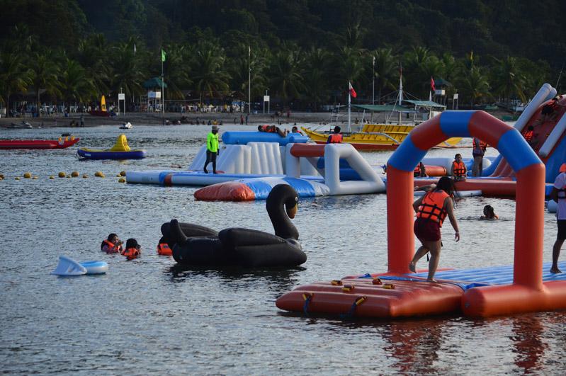 Subic Inflatable Island