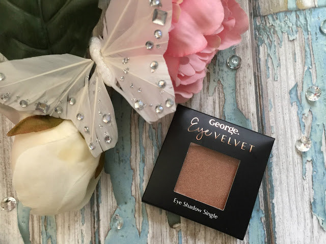 george eye velvet eyeshadow in sizzle