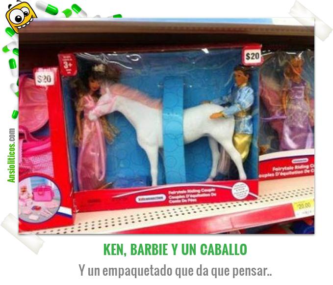 Chiste de Barbie: Ken y el Caballo