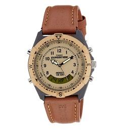 Timex Expedition Analog-Digital Beige Dial Unisex Watch - MF13