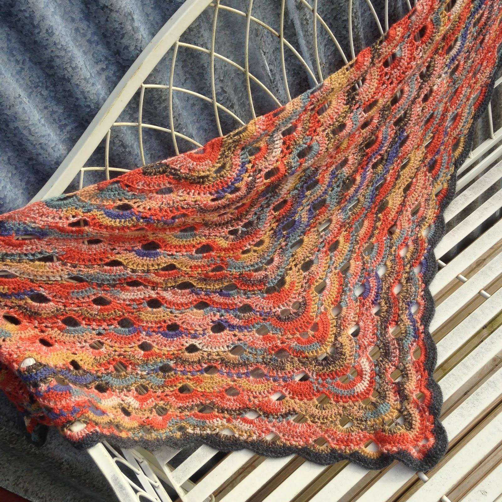 Crochet Virus Shawl Mybearpaw Blog By Jo Avery