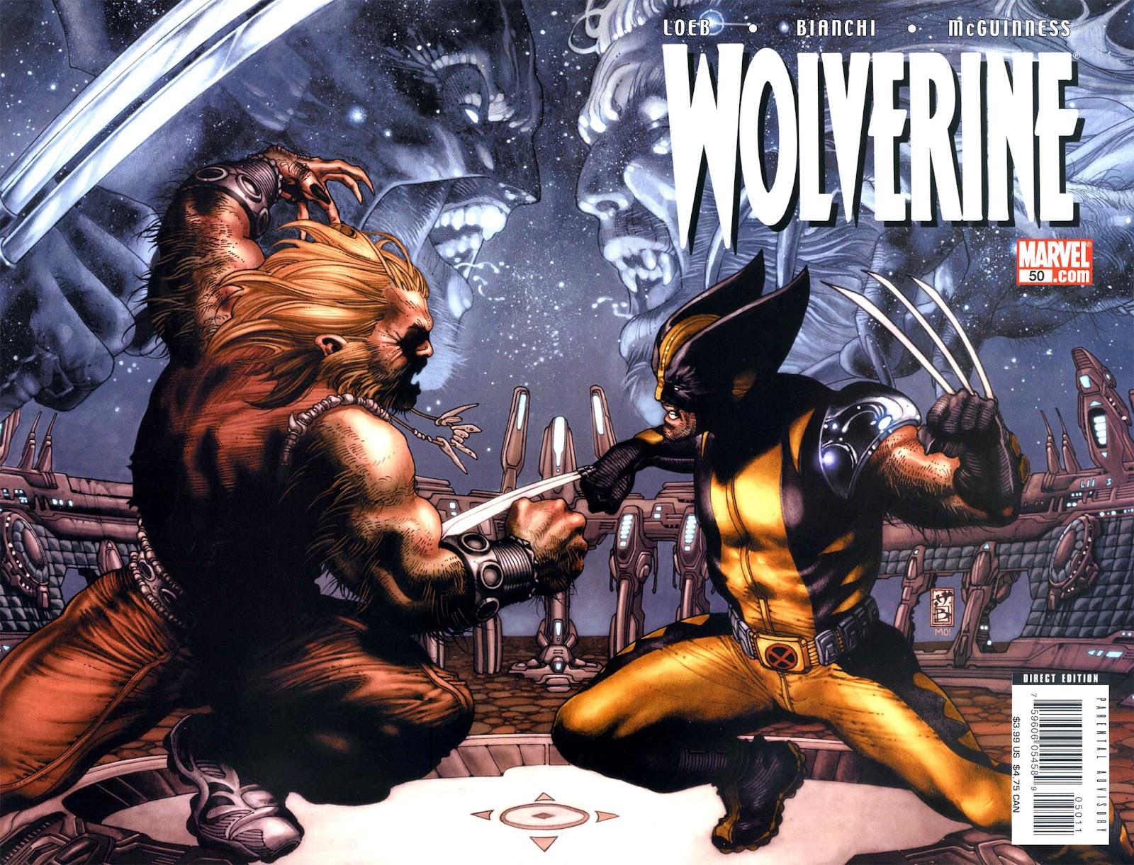 Read online Wolverine (2003) comic -  Issue #50 - 1