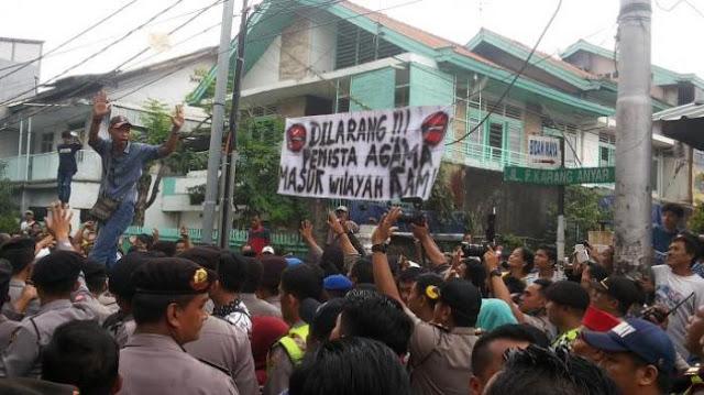 Penghadang Kampanye Djarot Akhirnya Ditangkap, Profesinya Tukang Bubur