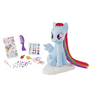 MLP Groom & Style Pony Rainbow Dash Figure by HTI