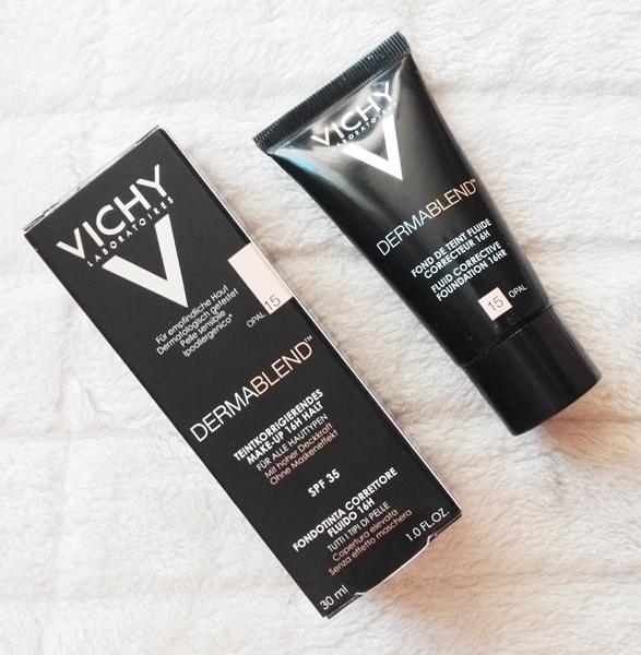 Vichy Dermablend - podkład korygujący