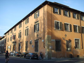 Florence University has several sites in the centre of the city, including this one, the Palazzo San Marco