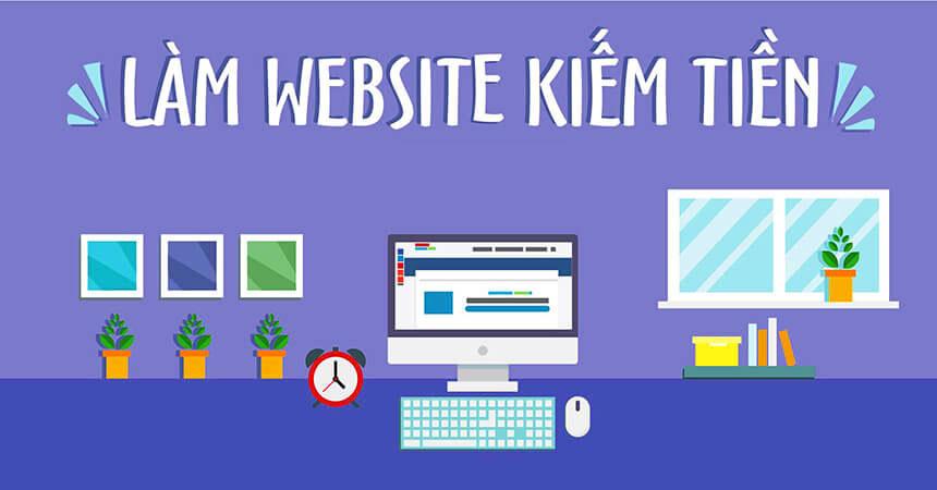 thiết kế website để kiếm tiền