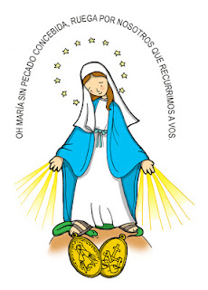 Medalla de la Virgen Milagrosa