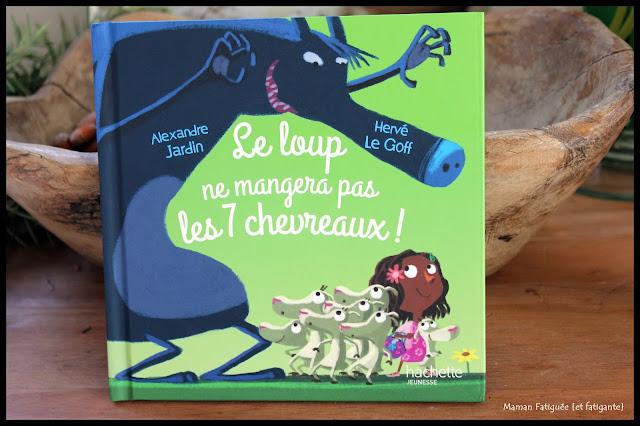 livre conte mcdonalds loup et 7 chevreaux