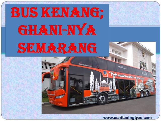 Kenang bus pariwisata Semarang