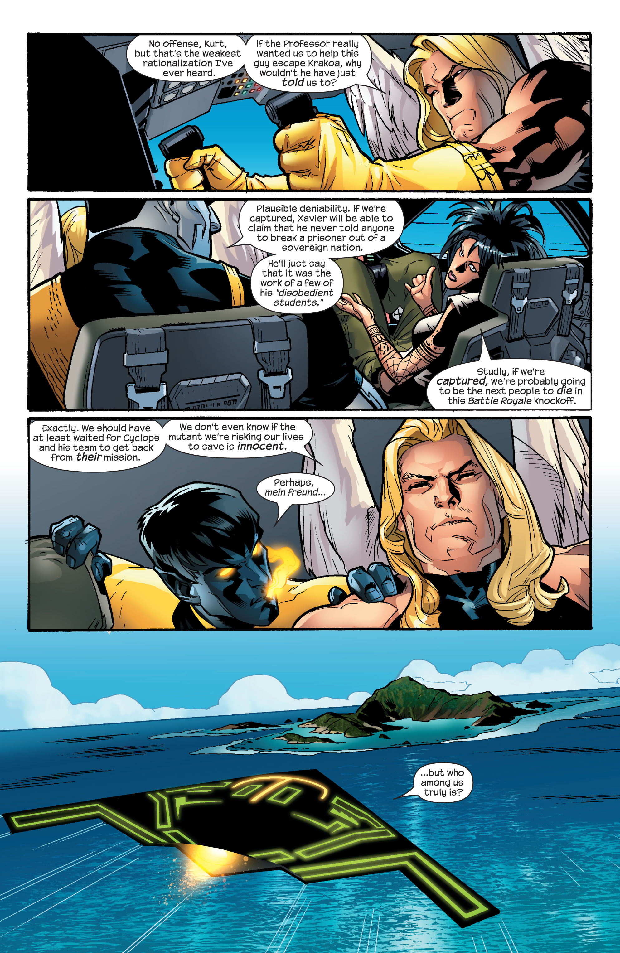 Read online Ultimate X-Men comic -  Issue #55 - 4