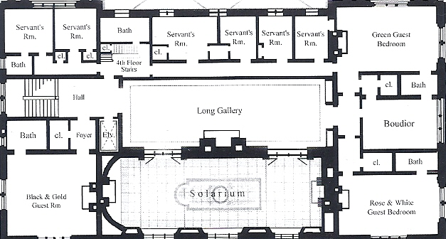 The gilded age era arthur curtiss james mansion new york city for Mansion floor plans with ballroom