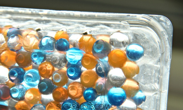 Water bead sensory box
