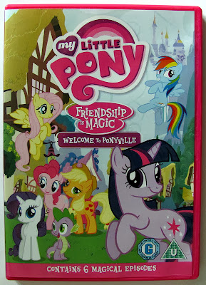 """Welcome to Ponyville"" DVD cover"