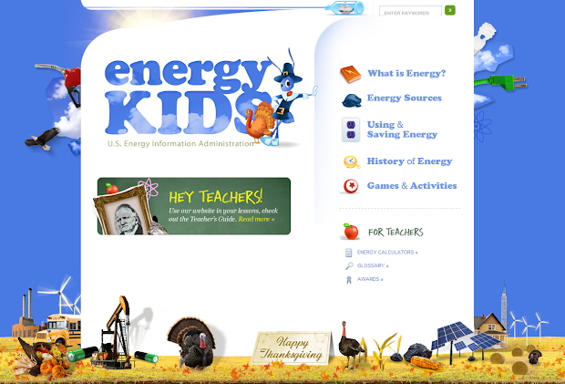 Science Kids Energy Facts