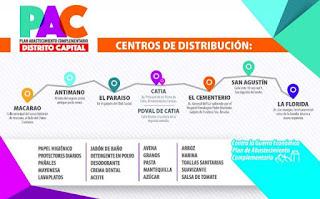 """Ya comienza a distribuirse en Caracas un lote de productos básicos importados desde Colombia que serán vendidos en el marco del Plan """"Abastecimiento Complementario"""""""