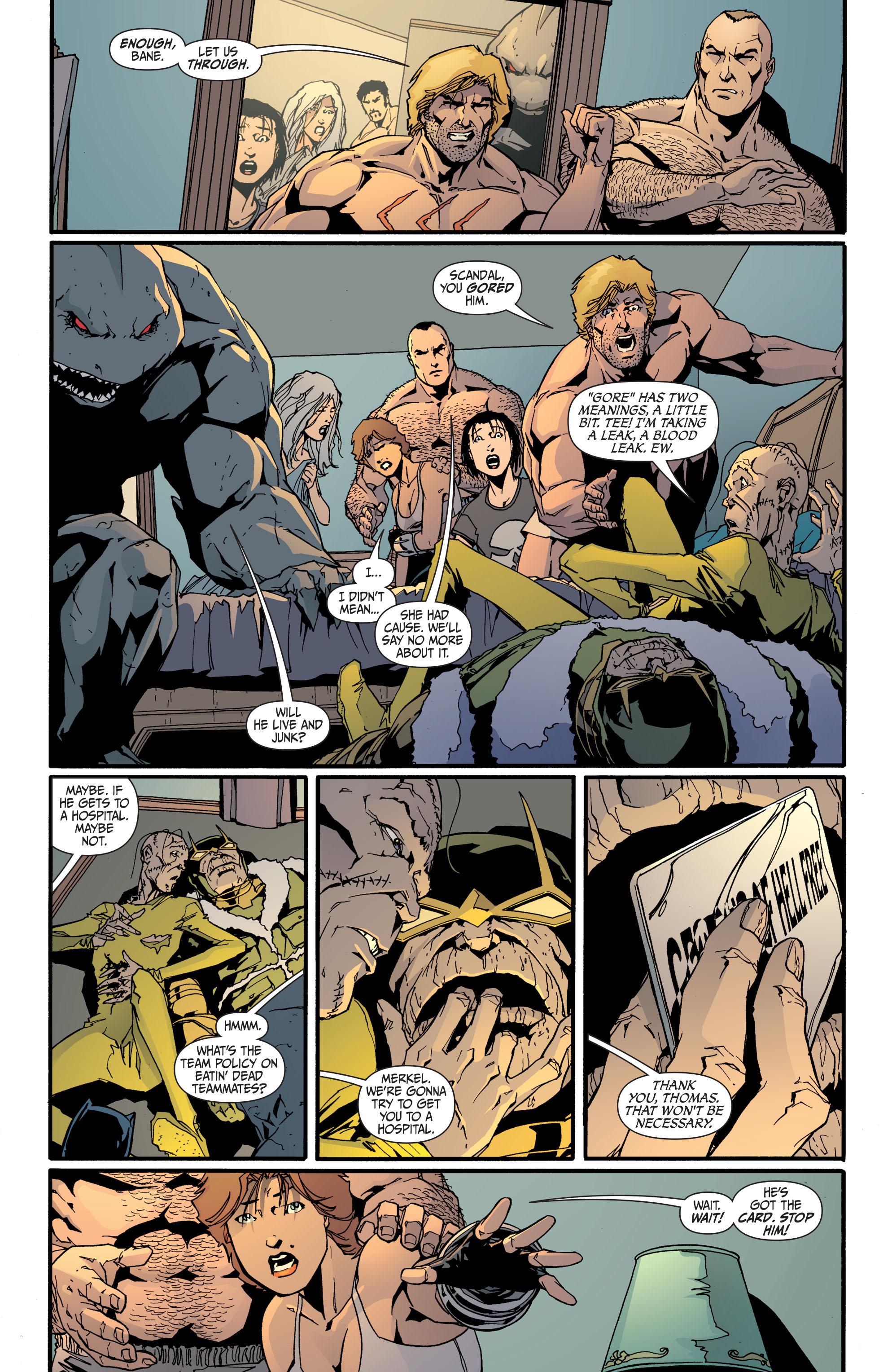 Read online Secret Six (2008) comic -  Issue #31 - 17