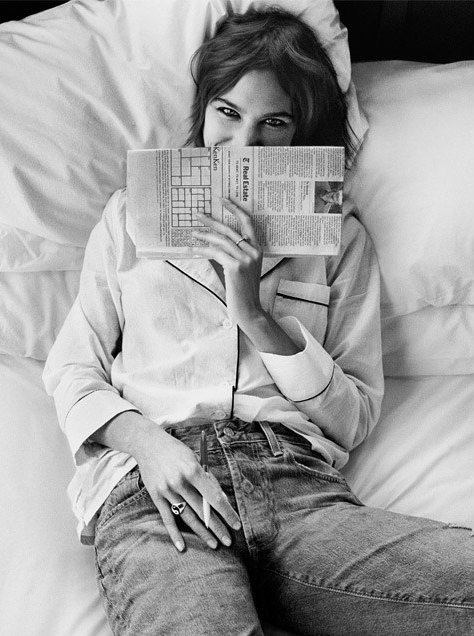 Alexa Chung is the New Face of AG Autumn/Winter 2016