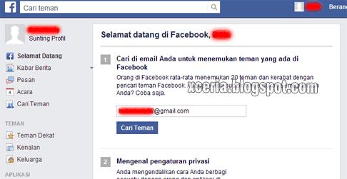 Cara Membuat Facebook - Selamat Datang